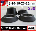 "8 10 15 20 25 30 mm 1-1/8"" Matte Conical Tapered Carbon Headset Bike Stem Spacer"