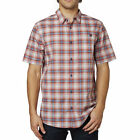 Fox Racing Krill Mens Short Sleeve Woven Shirt Red