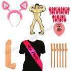 HEN PARTY NIGHT DO ACCESSORIES INFLATABLE WILLY SASH BALLOONS GIRLS NIGHT OUT