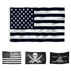 Newest 3'x5' Polyester American flag 2 Grommets Indoor/Outdoor flags 3 Types