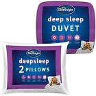 Silentnight Deep Sleep 13.5 Duvet & Deep Sleep Pillow Pair
