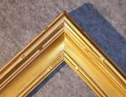 "3"" WIDE Gold Leaf Ornate photo family Oil Painting Wood Picture Frame 530G"