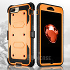For iPhone 7 7Plus Belt Clip Holster Shockproof Rugged Protective Case Cover