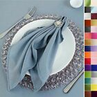 "20"" Polyester Fabric NAPKINS Wedding Party Dinner Kitchen Table Decorations"