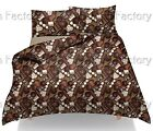 Luxury Design Chocolate Sweets Printed Duvet/Quilt Cover Pillowcases Bedding Set