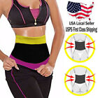Women's Tummy Neoprene Shaper Body Wrap For Stomach Waist Yoga Belly Band full# image