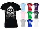 Womens Wolversloth Wolverine Sloth Funny T-shirt NEW
