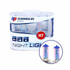 H7 Night Light Headlight Bulbs - 12v Xenon +90% Brighter White AP v9