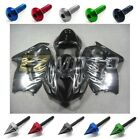 INJ Fairing Bodywork + Complete Bolt Kit for Suzuki GSXR1300 1999-2007 Pearl AE