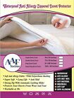 Waterproof Duvet Cover Duvet Protector Quilt Cover  Zippered Antiallergy, Sheets
