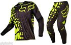 FOX COMPLETO CROSS 360 GRAV 2017 NERO GIALLO FLUO  MOTOCROSS ENDURO