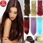 Beauty lady Hairpiece Clip in Full Head Hair Extensions Extension Straight SS5