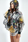 ADIDAS Originals Women Pharrell Williams Artist Poncho  Floral Rain Mac Jacket
