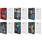 OFFICIAL STAR TREK SPOCK LEATHER BOOK WALLET CASE FOR SAMSUNG GALAXY TABLETS