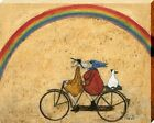 Sam Toft Somewhere Under A Rainbow Canvas Print 40x50x3.8cm