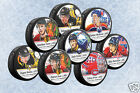NHL Star Hockey Puck - McDavid, Crosby, Price, Ovechkin, Malkin, Kane, Toews $9.95 USD on eBay
