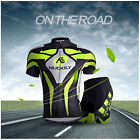 NUCKILY Men's Outdoor Bike Riding Jerseys Shorts Suit Cycle Maillot Tights Kits