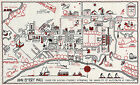 1927 University of Wisconsin Madison Campus Map Women Students Ann Emery Hall