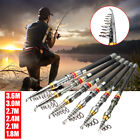 Внешний вид - Portable Carbon Fiber Ultralight Travel Telescopic Fishing Rod Sea Spinning Pole