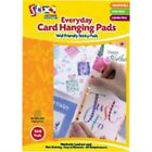 Pack Of 144 Everyday Card Hanging Pads - 7mmx 7mm Per Non-staining Stationery