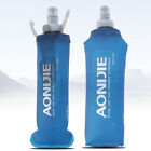 Foldable Soft Flask TPU Squeeze Outdoor Sports Running Water Bottle 150ml -500ml