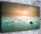 Still Ocean Panoramic Canvas Print Modern Art 4 Sizes to Choose - Ready to Hang