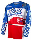 O'Neal Element Afterburner 2016 Mens MX/Offroad Jersey Blue/Red/White