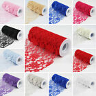 6 inches x 30 feet LACE FABRIC Ribbon ROLL Pattern Design DIY Crafts Favors SALE