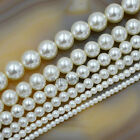 Wholesale Top Quality Czech Glass Pearl Round Beads 16'' 3mm 4mm 6mm 8mm 10mm