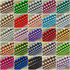 Crafts - Wholesale Top Quality Czech Glass Pearl Round Beads 16'' 3mm 4mm 6mm 8mm 10mm
