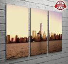 New York World Trade Centre 3 Panel Canvas Print Large Picture Wall Art Decor 3