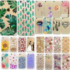 Fashion Transparent Soft Silicone TPU Cover Case For iPhone5S SE 5C 6S 7 7Plus 8