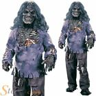 Boys Complete Zombie Costume Undead Halloween Fancy Dress Child Outfit + Mask