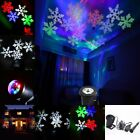 RGB&White Outdoor Snowflake LED Landscape Laser Light Garden Projector For Party
