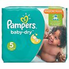 Pampers Baby Dry Windeln, Gr.5 (Junior) 11-23 kg, Monatsbox