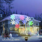 White&RGB Outdoor Snowflake Laser LED Landscape Projector Lamp For Xmas Party