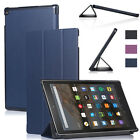 Slim Magnetic Flip Stand PU Leather Cover Case for Amazon Kindle Fire HD 10 2015
