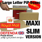 MAXI SLIM Size LARGE LETTER BOXES PiP Postal Pricing In Proportion 333x123x20mm