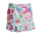 BETTE & COURT WOMEN'S GOLF SKORT TWISTER T15612 SIZE EXTRA SMALL FLOWER NWT