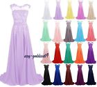 New Chiffon bridesmaid Formal Evening Party Gown prom Women's Dress Size 6-22