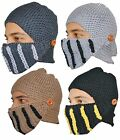 MENS THERMAL COSSACK MASK TRAPPER WARM WINTER SKI SNOWBOARDING OUT CHAMPING HAT