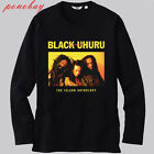 New Black Uhuru *Liberation Reggae Band Long Sleeve Black T-Shirt Size S-3XL