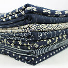 Japanese Indigo Classics 100% Cotton Fabric Navy Blue per metre