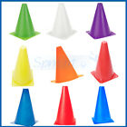 8 CHOICES WITCHES HAT SLALOM MARKER CONES SOCCER RUGBY FITNESS SKATING TRAINING