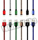 LOT 3FT / 6FT Nylon Braided USB Charger Data Sync Cable For iphone 6S 6 5S 5
