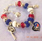 MLB TORONTO BLUE JAYS Crystal Team Charm Bracelet      FREE SHIPPING!!! on Ebay