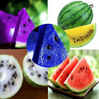 10pcs Rare Watermelon Seeds Delicious Fruit Vegetables Suave 7 Colors to Choose