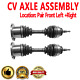 Front CV Joint Axle Shaft Pair Set For FORD EXPEDITION LINCOLN MARK LT,NAVIGATOR