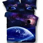 The New 3d Mysterious Boundless Galaxy Sky Starry Night Bedding Sets