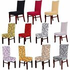 Stretch Banquet Slipcovers Dining Room Folding Party Short Chair Covers Sanwood